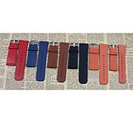 hochwertige neue Ersatz-PU-Lederband für Apfel Uhr 38mm multicolor