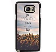 vinden schoonheid dingen ontwerpen slanke metalen achterkant van de behuizing voor Samsung Galaxy Note 3 / noot 4 / note 5 / note 5 rand