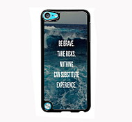 Be Brave Design Aluminum High Quality Case for iPod Touch 5