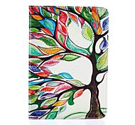 motif magie de l'arbre de spider®color cuir PU avec support de protection pour onglet de Samsung Galaxy s2 8,0 / s2 9,7
