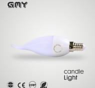 1 pcs GMY E14 3 W 1 SMD ≥250 LM Warm White/Cool White B35L Decorative Candle Bulbs AC 220-240 V