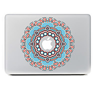 Circular Flower 10 Decorative Skin Sticker for MacBook Air/Pro/Pro with Retina Display