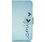 Smile PU Leather Full Body Case with Screen Protector And Stand for iPod Touch 5