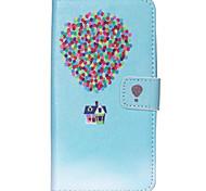 Для Кейс для Motorola Кошелек / Бумажник для карт / со стендом / Флип Кейс для Чехол Кейс для Занавес Твердый Искусственная кожа Motorola