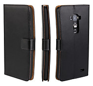 LG G Flex D958 Genuine Leather / PVC Full Body Cases / Cases with Stand Special Design case cover