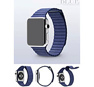 Winding Real Leather Sport Watchband With The Connector for Apple Watch 38mm/42mm (Assorted Colors)