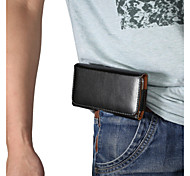 Universal Belt Clip Buckle Up and Down to Open the Lateral Plate Pockets PU Leather for iPhone 6