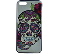 Skull Pattern PC Hard Case for iPhone 5C