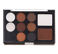 11 Eyeshadow Palette Shimmer Eyeshadow palette Pressed powder Normal Daily Makeup / Smokey Makeup