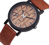Unisex Leather Band Analog Japan Quartz Wrist Watch(Assorted Colors)