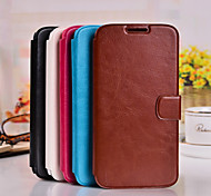 PU Wallet Ultra-Thin Voltage cell phone Holster for Samsung Galaxy Style Duos Galaxy Grand Prime Galaxy Grand 2