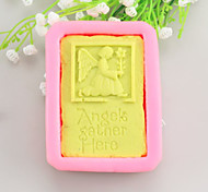 Tombstone Shaped  Soap Molds Mooncake Mould Fondant Cake Chocolate Silicone Mold, Decoration Tools Bakeware