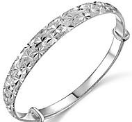 Woman Starry Sterling Silver Adjustable Bracelet