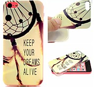 Keep Your Dreams Alive Words Phrase Pattern 0.6mm Ultra-Thin Soft Case for Apple iPhone 5/5S