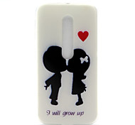 I Will Grow Up Pattern TPU Soft Cover Case for Motorola MOTO G3 3rd Gen