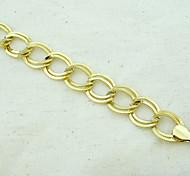 18K Golden Plated Loop Bracelet