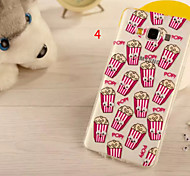 For Samsung Galaxy Case Pattern Case Back Cover Case 3D Cartoon PC Samsung A8
