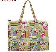 Kate & Co.® Women PVC Tote Multi-color - KF-04460