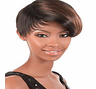 Fashion Mix Color Short Straight Woman's Synthetic Wigs Hair