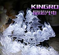 solare luci stringa 6.5m luci 30LED Albero di Natale decorazione luci luci della festa di nozze bene