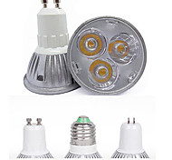 HRY® 3W GU10/GU5.3/E27 260LM Warm/Cool White Light LED Spot Lights(85-265V)