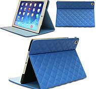 Cross-Muster PU Ledertasche für iPad Mini 1/2 Mini / Mini 3 (verschiedene Farben)