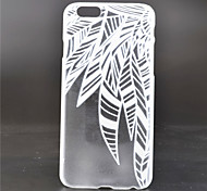 Leaves Pattern PC Material Phone Case for iPhone 6