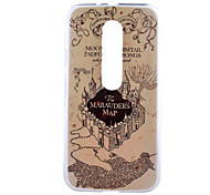Marauders Pattern PC Hard Back Cover Case for Motorola MOTO G3 3rd Gen