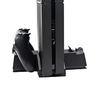 3 en 1 soporte de múltiples dock cargador de la función para la consola PS4