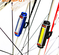 SUNSPOT Bike Light Night Riding / Wheel Lights / Safety Lights 3 Mode 100 Bike USB / Battery Bicycle Taillights