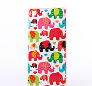 Baby Elephant Pattern TPU Soft Case for Sony Xperia M5