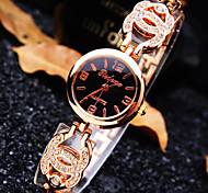 Women's New Luxury Trend Round Dial Diamond Band Fashion Quartz Bracelet Watch (Assorted Colors)