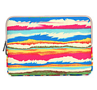 10'' 11'' 12'' 13''14'' 15''Abstract Rainbow Pattern Canvas Bag Computer Protective Sleeve Case