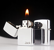 Personalized Father's Day Gift Engraved Silver Oil Lighter