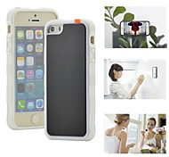Myfon Lo TPU+PC+Nano Suction Material Anti-Gravity Case for iPhone5/5S