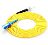 Shengwei® FSC-106 ST-SC Simplex Single-Mode Fiber Patch Cord 3M