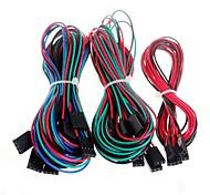 14PCS cabos de fiação completas para impressora 3D RepRap rampas de 1,4 fim de curso termistores do motor