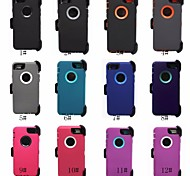Heavy Duty Hybrid Defender Outer Series Cover Case w/Clip For iphone 6