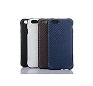 Drop Mat Grain PU Leather Mobile phone  for iPhone6S Assorted Color