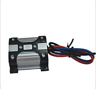 10A 12V Power Filter - Black + Silver (15cm)