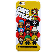 One Piece Person Works OP TPU Soft Back Cover for iPhone 6