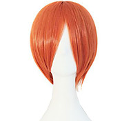 Animation Festival Fashion Must-Have Orange Hair Quality Wigs
