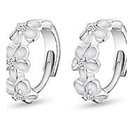 WH  Woman Camellia Earrings