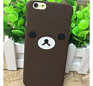 The New Tide Brand Scrub Couple Bear Cases for iPhone6/iPhone 6s(Assorted Colors)