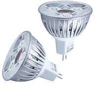 HRY® 3W MR16 260LM Warm/Cool White Light LED Spot Lights(12V)