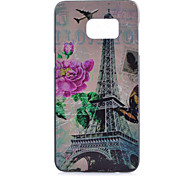 For Samsung Galaxy Note Pattern Case Back Cover Case Eiffel Tower PC Samsung Note 5 / Note 4