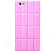 3D Pink Chocolate Silicone Soft Case for iPhone 6