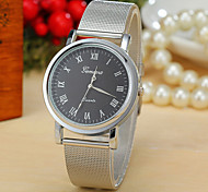 Men's  Watch Silver Quartz Watch