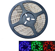 JIAWEN® Waterproof 5M 300-5050 SMD RGB LED Strip Light (DC 12V /5M)