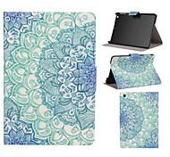 motif bleu et blanc en cuir PU cas de tout le corps avec fente pour support pour iPad Mini / Mini iPad 2 / iPad 3 mini-